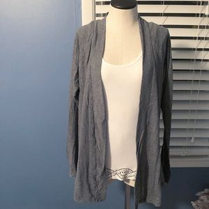 Open front light weight 'cardigan'
